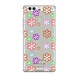 Für Transparent Muster Hülle Rückseitenabdeckung Hülle Blume Weich TPU für HuaweiHuawei P9 Huawei P9 Lite Huawei P9 plus Huawei P8 Huawei