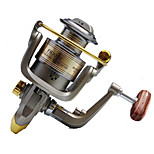 Fishing Reel Spinning Reels 5.2:1 12 Ball Bearings Right-handed General Fishing-FB3000