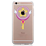 For IPhone 7 Case Back Cover Case TPU Fairy Stick Pattern for iPhone 7/ 7 Plus 6s/ 6 /6s Plus / 6 Plus/ SE / 5s / 5 /5C/ 4/4s