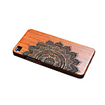 For Huawei P9 Mate 9 Shockproof Embossed Case Back Cover Case Mandala Hard Bamboo for Huawei P9 Plus P8 Mate 8