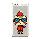 Für Transparent Muster Hülle Rückseitenabdeckung Hülle Zeichentrick Weich TPU für HuaweiHuawei P10 Plus Huawei P10 Lite Huawei P10 Huawei
