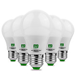 5Pcs YWXLight® E27 5730SMD 5W 10LED 400-500Lm Warm White Cool White Super High Brightness LED Bulb (AC/DC 12-24V)