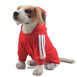 Dog Hoodie Dog Clothes Winter Summer Spring/Fall BritishCute Sports Classic Fashion Casual/Daily Birthday Holiday Wedding Halloween
