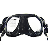 Diving Masks Waterproof Safety Gear Diving / Snorkeling silicone Black
