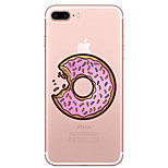 For Apple iPhone 7 7 Plus 6S 6 Plus Case Cover Cookies Pattern Painted High Penetration TPU Material Soft Case Phone Case