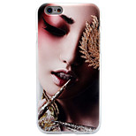 For Apple iPhone 7 7 Plus 6s 6 Plus Case Cover Sexy Beauty Pattern Thicker TPU Material Scrub Soft Case Phone Case
