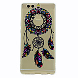 For Case Cover Transparent Pattern Back Cover Case Dream Catcher Soft TPU for HuaweiHuawei P10 Plus Huawei P10 Lite Huawei P10 Huawei P9