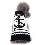 Cat Dog Sweater Dog Clothes Winter Sailor Cute Fashion Casual/Daily