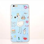 For Pattern Case Back Cover Case Animal Soft TPU for Apple iPhone 7 Plus iPhone 7 iPhone 6s Plus iPhone 6 Plus iPhone 6s iPhone 6