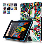 Print Case Cover For Lenovo Tab 3 TAB3 7 730 730F 730X TB3-730F TB3-730M 7 Tablet with Screen Protector