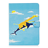 For Apple iPad 4 3 2 Case Cover Animal Pattern Painted Card Stent Wallet PU Skin Material Flat Protective Shell