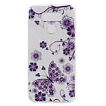 For LG G6 LS775 X Power Case Cover Butterfly Painted Pattern TPU Material Phone Case
