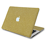 For MacBook Air 11 13/Pro13 15/Pro with Retina13 15/MacBook12 Flash Yellow Texture Decorative Skin Sticker