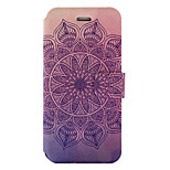 For Wiko Lenny3 Wiko Jerry Case Cover Mandala Pattern Painted PU Material Card Holder Mobile Phone Holster Phone Case