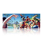 Super Large Size 90cm*40cm Crazy Party Print Game Mouse Pad Mat Laptop Gaming Mousepad