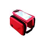 Велосумка/бардачокСотовый телефон сумка Бардачок на раму Пригодно для носки Многофункциональный Сенсорный экран Велосумка/бардачок