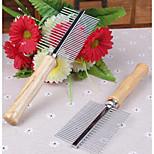 Cat Dog Grooming Scissor Comb Pet Grooming Supplies Portable Silver