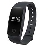 Смарт-браслет / Датчик для отслеживания активностиЗащита от влаги / Длительное время ожидания / Израсходовано калорий / Педометры / Видео