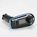 Bluetooth Handsfree Kit Receiver Mp3 Player Dual USB LCD Display Car Kit Handsfree Car charger