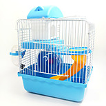 New Hot Sales high quality plastic multi-colored castle heightening pet hamster cage hamster cage for travel