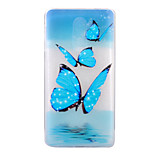 For HUAWEI 6X P8Lite(2017) Case Cover Butterfly Pattern HD TPU Phone Shell Material Phone Case