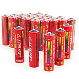 Batterie lingli aa cardon zinc 1.5v 40 pack