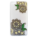 For Huawei P8 Lite (2017) P9 Lite Case Cover Flower Pattern Painted Point Drill Scrub TPU Material Luminous Phone Case