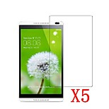 5pcs Clear LCD Screen Protector Protective Film for Tablet PC 8 Huawei MediaPad M1/S8-303