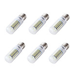 YouOKLight 6PCS E26/E27 4W 350LM AC/DC 12-24V 120xSMD3528 Cold White Light CRI80 LED Corn Bulbs Lamp