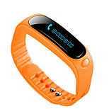 E02 Smart Bracelet Water Resistant / Water Proof Long Standby Calories Burned Pedometers Heart Rate Monitor Touch Screen GPS Information