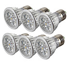 4W E26/E27 Focos LED 4 LED de Alta Potencia 360 lm Blanco Fresco V 6 piezas