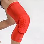 Фиксатор колена для Бег Фитнес Баскетбол Футбол Для мужчин Защитный Анти-скольжение Дышащий Легко туалетный Стреч СпортивныйНейлон Лайкра