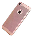 For IPhone 7 Plus 7 Cover Case Ultra-thin Back Cover Case Solid Color Hard PC 6s Plus 6 Plus 6s 6 5s 5