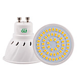 1Pcs YWXLight® GU10 E26/E27 MR16 54LED 5W 2835SMD 400-500Lm Warm White Cool White Natural White LED Spotlight (AC 110/ AC 220V)