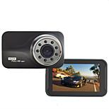 mais novo carro DVR câmera do carro box3''1920x1080p preto full hd de visão noturna gravador de loop recorder infravermelho lâmpada traço