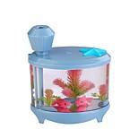 le réservoir de poissons humidificateur mini-foyer air purificateur humidifiant usb humidificateur à ultrasons petite lampe de nuit