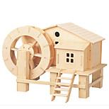 Jigsaw Puzzles DIY KIT 3D Levigation Cottage Logic & Puzzle Toys Building Blocks DIY Toys Square Furniture