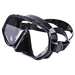 Diving Masks Diving / Snorkeling Glass silicone Black