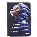 Per A portafoglio Porta-carte di credito Con supporto Con chiusura magnetica Fantasia/disegno Custodia Integrale Custodia Gatto Resistente