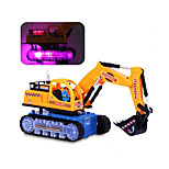 Construction Vehicle Toys Car Toys 1:25 Plastic Blue Yellow Model & Building Toy