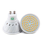 1Pcs YWXLight® GU10 GU5.3(MR16) E27 72LED 7W 2835SMD 500-700Lm Warm White Cool White Natural White LED Spotlight (AC 110V/ AC 220V)