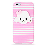 For IMD DIY Three-dimensional Mirror Dog Back Cover Case Soft TPU for Apple iPhone 7 Plus iPhone 7 iPhone 6s Plus iPhone 6 Plus iPhone 6s iPhone 6