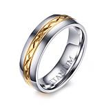 Ring Kreis Stahl Runde Form Silber Schmuck Für Alltag 1 Stück