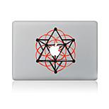 1 pezzo Anti-graffi Geometrica Di plastica trasparente Decalcomanie A fantasia PerMacBook Pro 15'' with Retina MacBook Pro 15 '' MacBook
