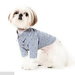 Dog Coat Dog Clothes Summer Stripe Cute Casual/Daily Stripe