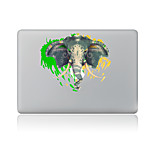 For MacBook Air 11 13/Pro13 15/Pro With Retina13 15/MacBook12 Graffiti Elephants Decorative Skin Sticker