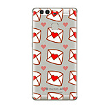 For Huawei P10 P9 Transparent Pattern Case Back Cover Case Heart Soft TPU for Huawei P10 Plus P9 Plus P9 Lite P8 P8 Lite Mate8 Mate9 Mate9 Pro