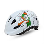 Спорт Детские Велоспорт шлем 11 Вентиляционные клапаны Велоспорт Велосипедный спорт Стандартный размер ПоликарбонатБелый Красный Синий