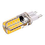 3W G9 Luces LED de Doble Pin T 40 SMD 5730 200-300 lm Blanco Cálido Blanco Fresco Decorativa AC110 AC220 V 1 pieza