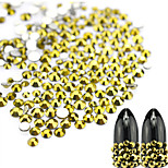 1 bag Fashion New Nail Art Gold Ore Rhinestone Nail Art Beauty Glitter Decoration Goldmine Rhinestone Nail Art Design